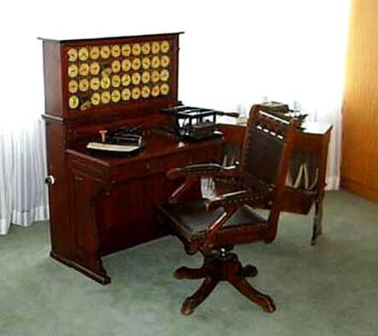 Máquina tabuladora.