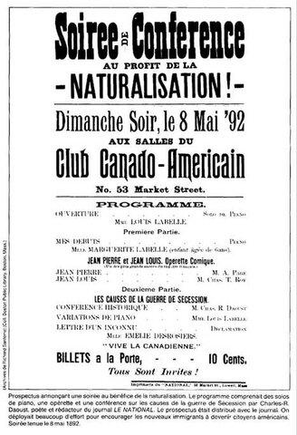 La démographie du Québec à l'époque de Napoléon