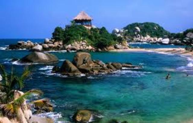 Je serai en vacances et aller à la Colombie.