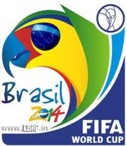 Je vais aller au Brésil pour la Coupe du monde 2014.