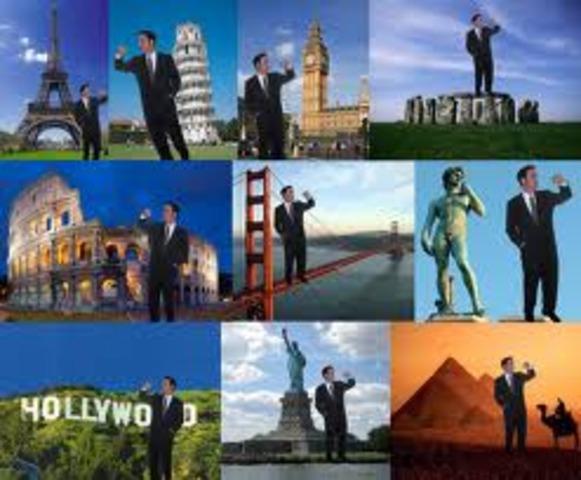 Je vais voyager pour 6 mois autour du monde.