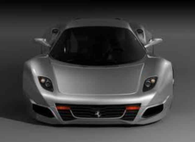 Je vais acheter une Ferrari.