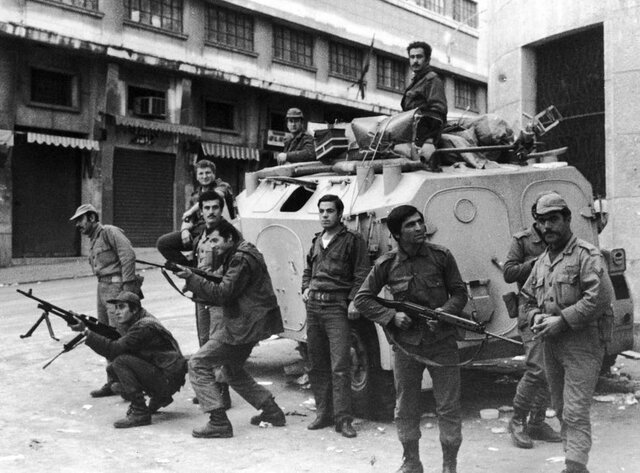 End of Lebanese war