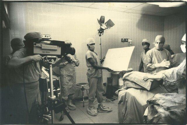 Primera operación a corazón abierto en RD. Directo y en vivo por TV.