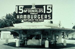 Primer McDonalds en México