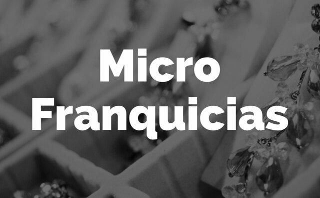 Franquicias sociales y microfranquicias en México