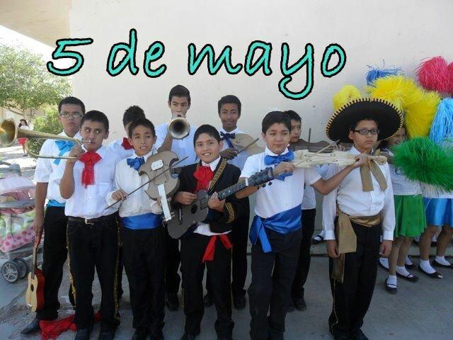 Mariachi el 5 de Mayo en la Primaria