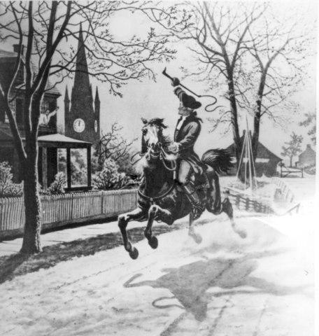 """Paul Revere""""s Ride"""