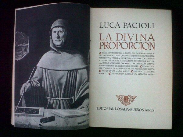 Primera edición del primer libro sobre Tenaduría, escrito por Fray Luca Pacciolo