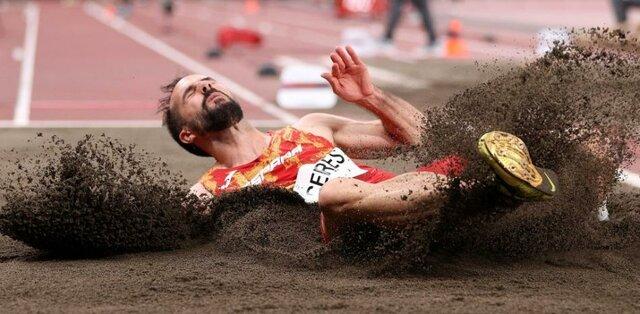 campeón en salto