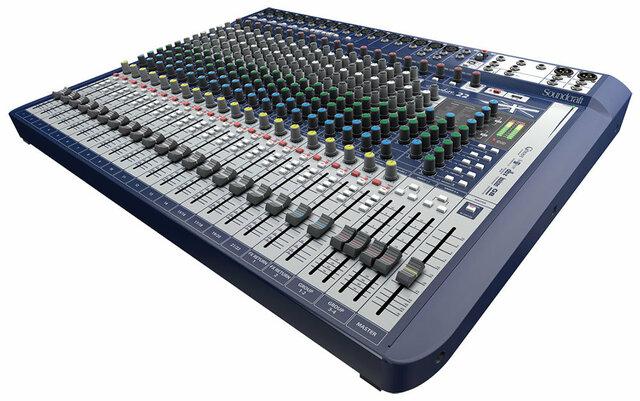 analogue mixing
