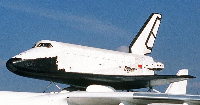 Первый и единственный космический полёт МТКК «Буран»