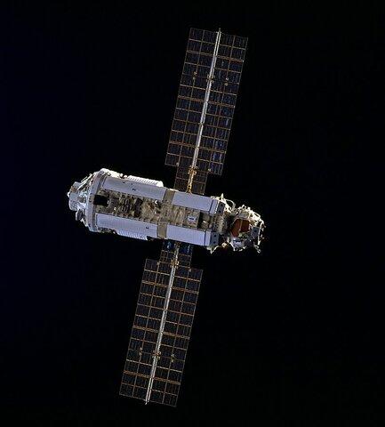 Запуск первого блока «Заря» Международной космической станции.