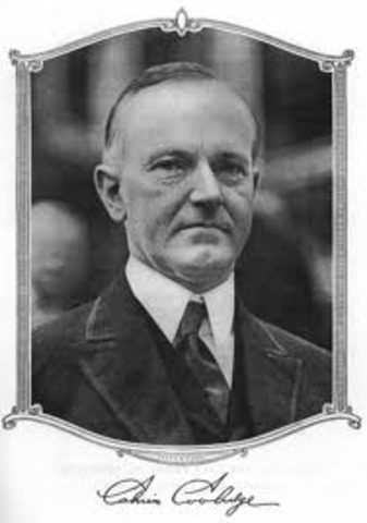 Calvin Coolidge is the 30th President