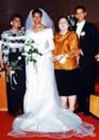 Married Michelle Robinson