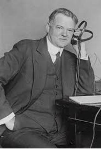 Herbert Hoover is the 31st President