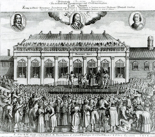 Parliament takes control of England, Charles I killed