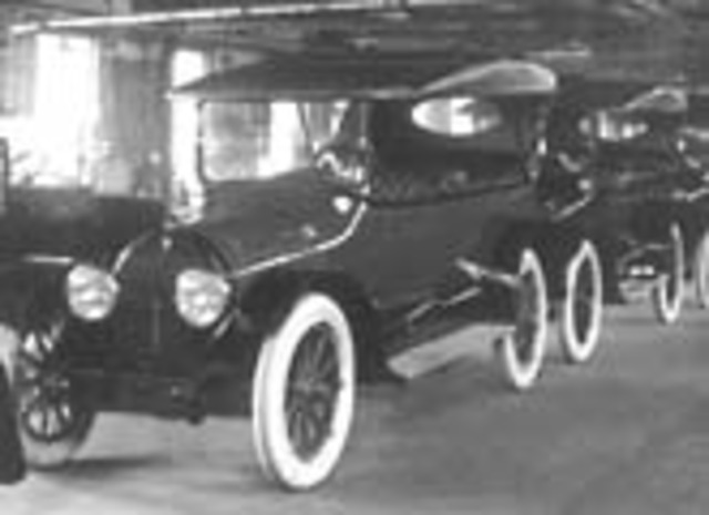Henry Ford and his first car