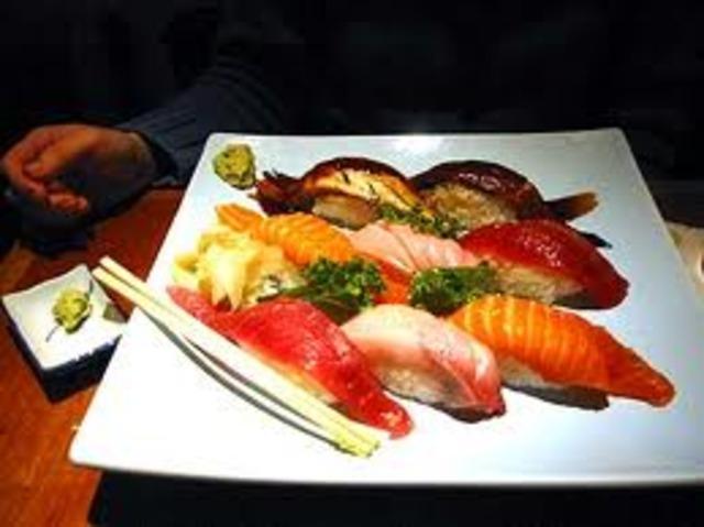 J'aimerai les sushis (I will like sushi)