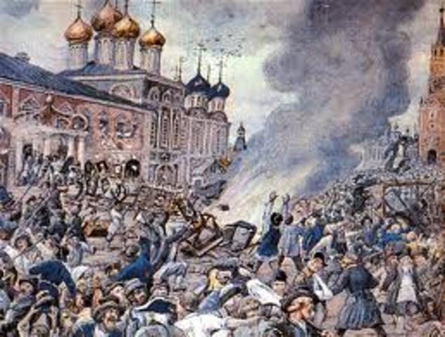 Great Plague of London (Bubonic Plague)