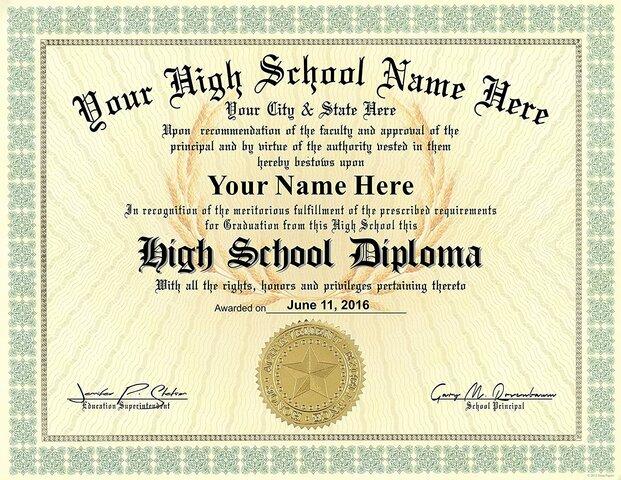 I graduate from high school