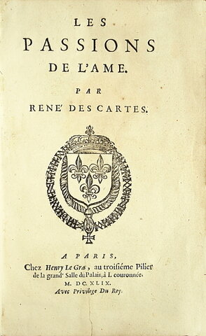 "Descartes publica su libro ""The Passions Of The Souls"""
