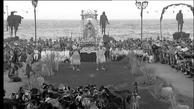 Participo en la ceremonia de la Candelaria