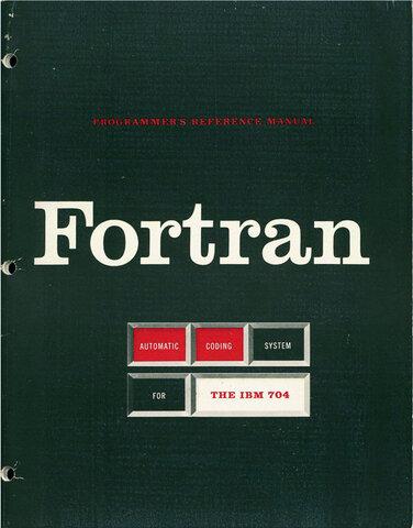 FORTRAN (FORmula TRANslator)
