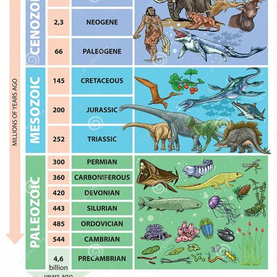 Geokronoloogiline skaala Pille-Riin BK timeline