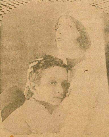 Eva Nil e Ben Nil em Barro Humano - e em O Tico-Tico