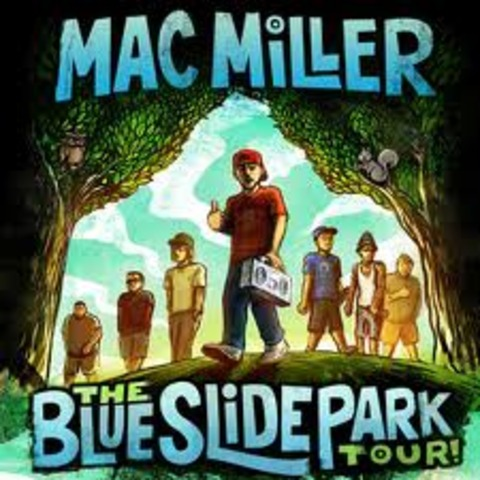 announced the title of his first album Blue Slide Park on his YouTube channel