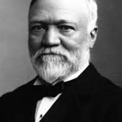 Andrew Carnegie timeline