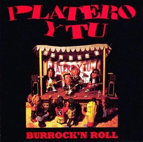 """Publicación : """"Burrock'n'roll"""" PLATERO Y TU"""