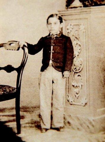 Born in San Pablo Guelatao, Oaxaca, Mexico.