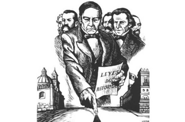 Juárez participated in the War of Reform.