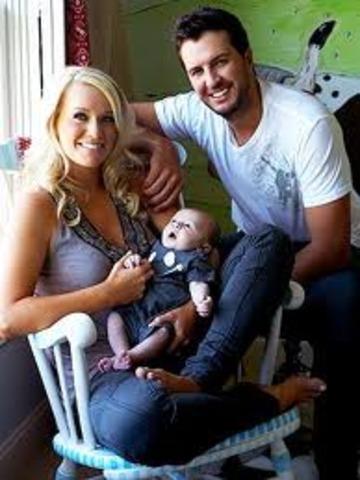 Luke Bryan's second son
