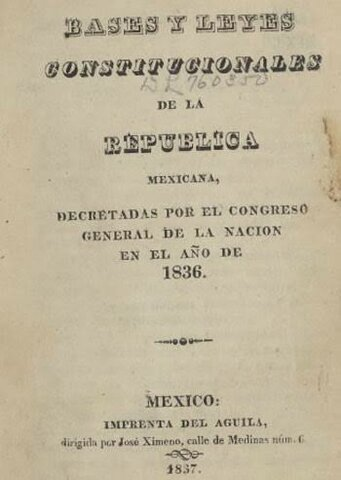 Siete Leyes Constitucionales