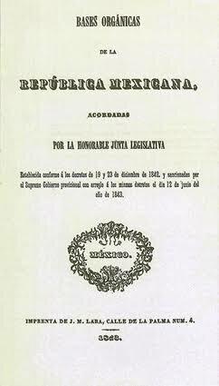 Bases Orgánicas de la República mexicana