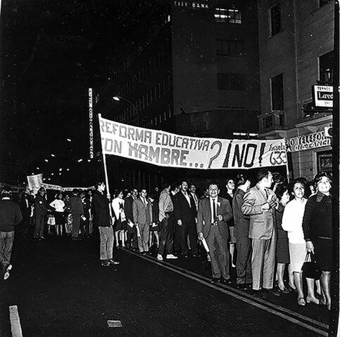 Conflicto con la reforma educativa de 1972