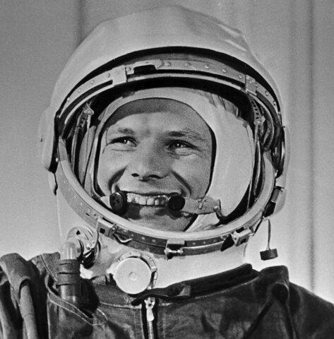 Первый полёт в космос Юрия Гагарина 14 апреля 1961 г.