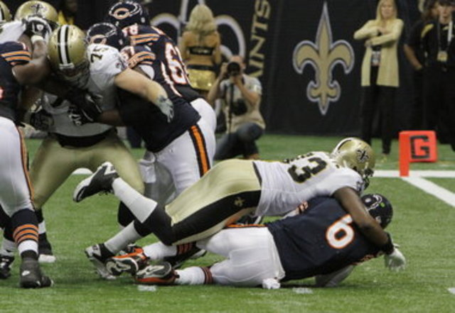 Bears 13 - Saints 30