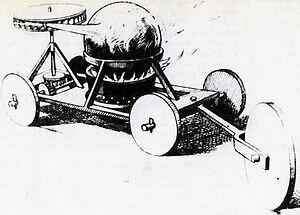 Паровой «автомобиль»
