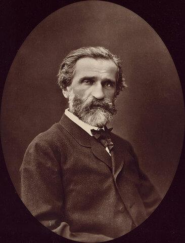 Giuseppe Verdi. (1813-1901).