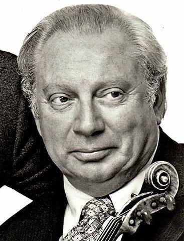 Isaac Stern. (1920-2001).