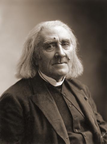 Franz Liszt. (1811-1886).