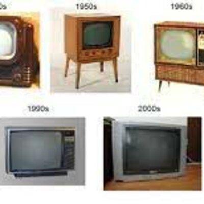 Historia de la televisión timeline