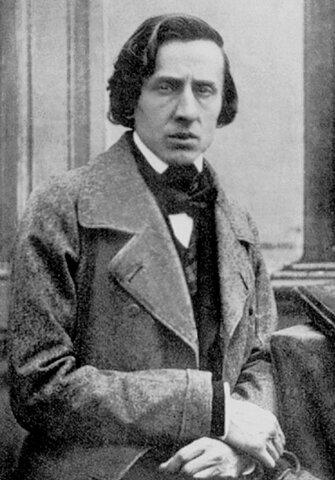 Frédéric Chopin. (1810-1849).