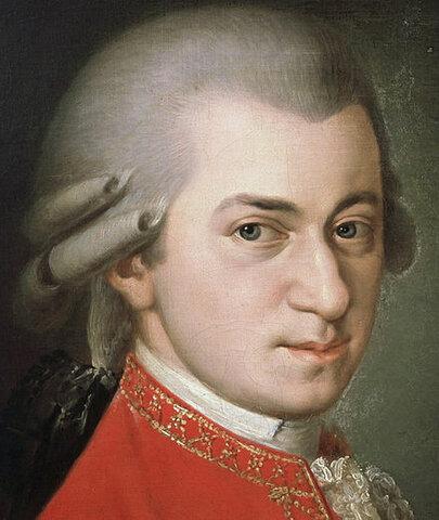 Wolfgang Amadeus Mozart. (1756-1791).