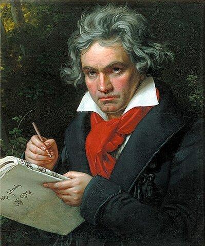 Ludwig van Beethoven. (1770-1827).