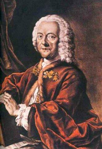 Georg Philipp Telemann. (1681-1767).